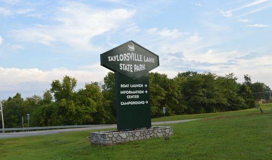 Taylorsville Lake Sign